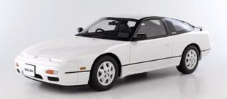 1991 Nissan 180 SX White 1/18 Model Car Otto Mobile for Kyosho OTM718-B
