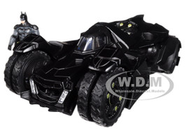 Arkham Knight Batmobile with Diecast Batman Figure 1/24 Diecast Model Car Jada 98037