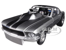 Gone in 6 Seconds 1967 Ford Mustang Gasser with Airplow Front Spoiler Limited Edition to 480 pieces Worldwide 1/18 Diecast Model Car Acme Exclusive GMP 18885