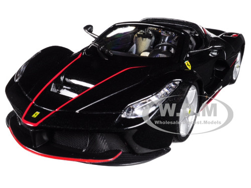 Ferrari LaFerrari F70 Aperta Black 1/24 Diecast Model Car Bburago 26022