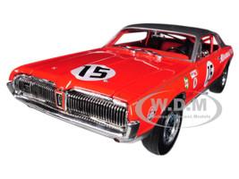 1967 Mercury Cougar #15 Parnelli Jones 1967 Daytona 300 Mile Race 3rd Place 1/18 Diecast Model Car Sunstar 1580