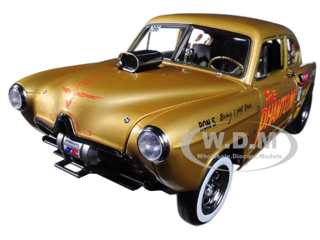 1951 Henry J Gasser Gold The Phantom 1/18 Diecast Car Model Sunstar 5100