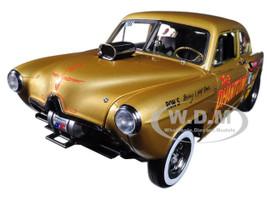 1951 Henry J Gasser Gold The Phantom 1/18 Diecast Car Model Sunstar 5100
