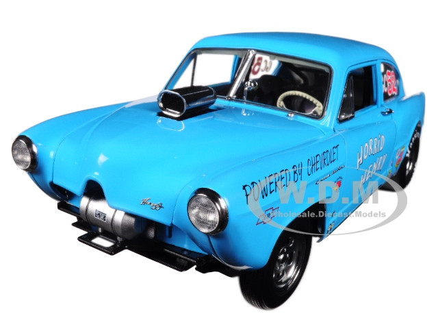 1951 Henry J Gasser Blue Horrid Henry Limited Edition to 999 pieces Worldwide 1/18 Diecast Car Model Sunstar 5107