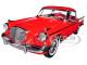 1957 Studebaker Golden Hawk Apache Red 1/18 Diecast Model Car by Sunstar 6153