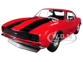 1967 Chevrolet Camaro 427 Red Acme Dealer Exclusive Limited Edition to 604 pieces Worldwide 1/18 Diecast Model Car Acme A1805711