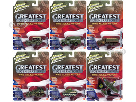 The Greatest Generation Military Battle Scarred Dirty Version Release 1 Set B 1/64 1/87 1/100 1/144 Diecast Models Johnny Lightning JLML001 B