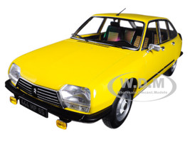1979 Citroen GS X3 Mimosa Yellow 1/18 Diecast Model Car Norev 181624