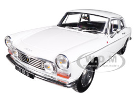 1967 Peugeot 404 Coupe Arosa White 1/18 Diecast Model Car Norev 184831
