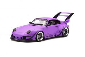 Porsche 993 RWB Rotana Matte Purple Limited Edition to 1500 pieces Worldwide 1/18 Model Car GT Spirit GT737