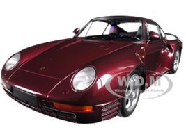 1987 Porsche 959 Red Metallic Limited Edition to 600 pieces Worldwide 1/18 Diecast Model Car Minichamps 155066204
