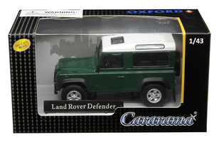 Land Rover Defender Dark Green 1/43 Diecast Model Car Cararama 4-55260
