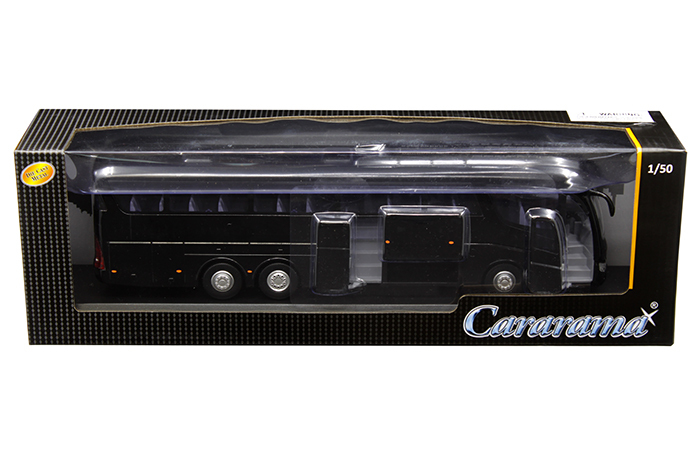Scania Irizar Pb Bus Black 1/50 Diecast Model Car Cararama 577-002 B
