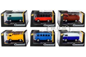 Volkswagen Set 6 pieces Display Showcases 1/72 Diecast Model Cars Cararama 711ND-021 B