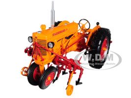 Minneapolis Moline U Tractor with Two-row Cultivator 1/16 Diecast Model Speccast SCT561