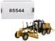 CAT Caterpillar 140M3 Motor Grader with Operator High Line Series 1/50 Diecast Model Diecast Masters 85544