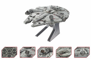 Millennium Falcon Star Wars Episode VI: Return of the Jedi Movie 1983 Diecast Model Hotwheels CMC93