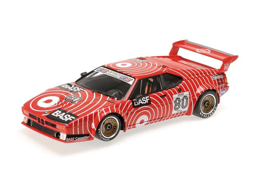 1980 BMW M1 Procar GS Tuning Hans-Joachim Stuck 1/12 Diecast Model Car Minichamps 125802980