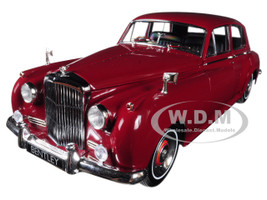 1960 Bentley S2 Red 1/18 Diecast Model Car Minichamps 100139955