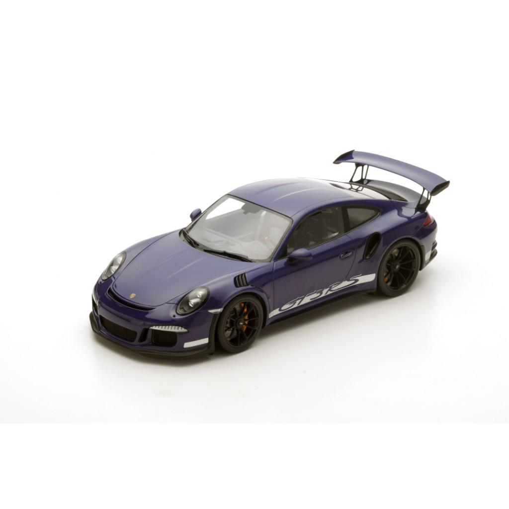 2016 Porsche 991 GT3 RS Purple 1/12 Model Car by Spark
