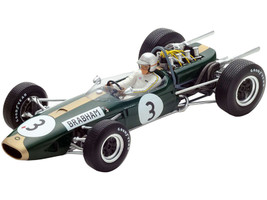 Brabham BT19 #3 Jack Brabham Formula One F1 World Champion 1966 1/18 Model Car Spark 18S223