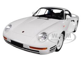 1987 Porsche 959 White 1/18 Diecast Model Car Minichamps 155066202