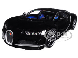 Bugatti Chiron Black 1/18 Diecast Model Car Kyosho C 09548 BK