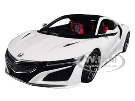 Honda NSX White 1/18 Model Car Kyosho KSR18023W