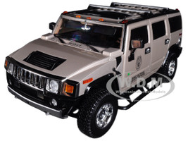 2003 Hummer H2 CSI Miami 2002-2012 TV Series 1/18 Diecast Car Model Highway 61 18006