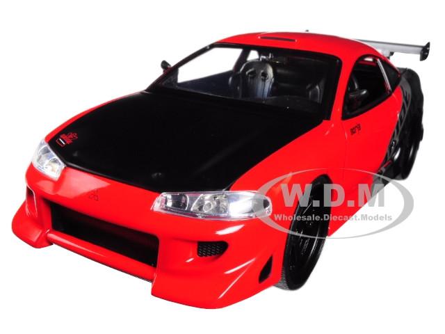 Mitsubishi Eclipse Blau Coupe 1//24 Jada Modellauto Modell Auto