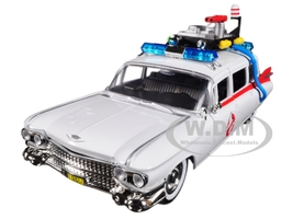 1959 Cadillac Ambulance Ecto-1 from Ghostbusters Movie Hollywood Rides Series 99731