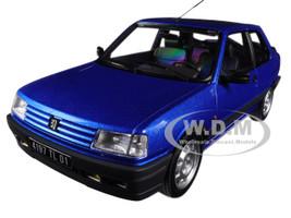 1991 Peugeot 309 GTi 16 Miami Blue 1/18 Diecast Model Car Norev 184881