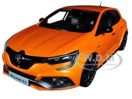 2017 Renault Megane R.S. Tonic Orange 1/18 Diecast Model Car Norev 185225