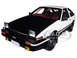 Toyota Sprinter Trueno AE86 Right-hand Drive Initial D Project D Final Version 1/18 Model Car Autoart 78799