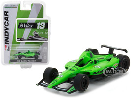 2018 IndyCar #13 Danica Patrick Go Daddy Ed Carpenter Racing 1/64 Diecast Model Car Greenlight 10823