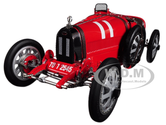 Bugatti T35 #11 National Color Project Grand Prix Italy Limited Edition 800 pieces Worldwide 1/18 Diecast Model Car CMC 100 B001