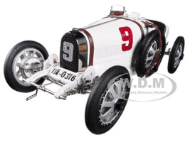 Bugatti T35 #9 National Color Project Grand Prix Germany Limited Edition 800 pieces Worldwide 1/18 Diecast Model Car CMC 100 B005