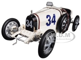 Bugatti T35 #34 National Color Project Grand Prix USA Limited Edition 500 pieces Worldwide 1/18 Diecast Model Car CMC 100 B006
