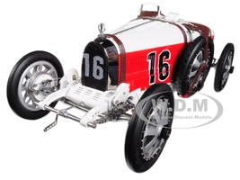 Bugatti T35 #16 National Color Project Grand Prix Monaco Limited Edition 800 pieces Worldwide 1/18 Diecast Model Car CMC 100 B007