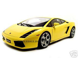 Lamborghini Gallardo Yellow 1/12 Diecast Model Car Autoart 12091