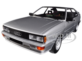 1980 Audi Quattro Silver Limited Edition 504 pieces Worldwide 1/18 Diecast Model Car Minichamps 155016122