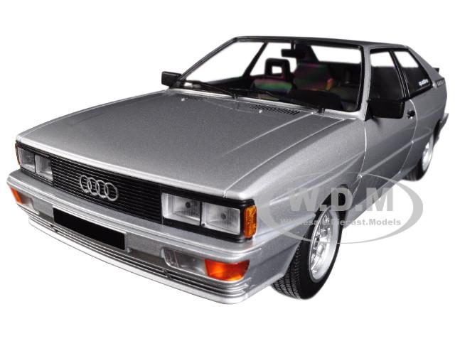 1980 Audi Quattro Silver Limited Edition 504 pieces Worldwide 1/18 Diecast Model Car Minichamps 155016122