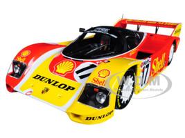 Porsche 962C #17 Derek Bell Hans-Joachim Stuck 3rd Place 200 Meilen von Nurnberg Supercup 1987 Limited Edition 504 pieces Worldwide 1/18 Diecast Model Car Minichamps 155876517