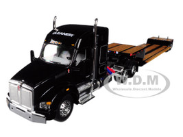 Gleaner Kenworth T880 Sleeper Cab Fontaine Renegade Lowboy Trailer 1/64 Diecast Model Speccast 30555