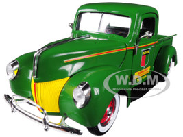 Oliver Ford Pickup Truck Green 1/25 Diecast Model Car Speccast 64128