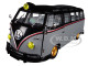 1959 Volkswagen Microbus Deluxe USA Model Gray Metallic Gloss Black Top Limited Edition 5800 pieces Worldwide 1/24 Diecast Model M2 Machines 40300-67 A