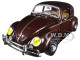1952 Volkswagen Beetle Deluxe Model Pearl Brown Limited Edition 5800 pieces Worldwide 1/24 Diecast Model Car M2 Machines 40300-67 B