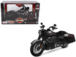 2017 Harley Davidson King Road Special Black Motorcycle Model 1/12 Maisto 32336