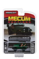 1974 Jeep CJ-5 Green Dallas 2017 Mecum Auctions Collector Series 2 1/64 Diecast Model Car Greenlight 37140 D