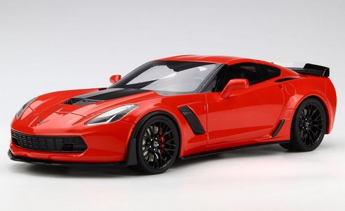 2017 Chevrolet Corvette Z06 Torch Red 1/18 Model Car GT Spirit Acme US005